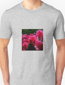 pink beautiful smell flowers Unisex T-Shirt