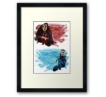 The Maximoffs Framed Print