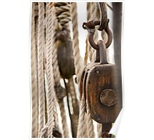 Block and Tackle Poster
