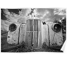 Car Graveyard - Morgan, SA Poster