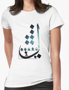 Lam - Night Womens Fitted T-Shirt