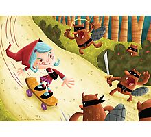 Red's Forest Delivery Service Photographic Print