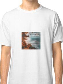 beautiful rocky water hills Classic T-Shirt