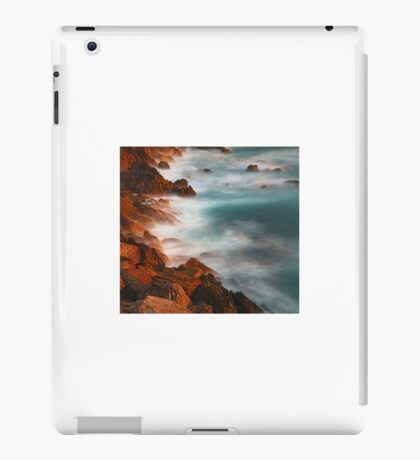 beautiful rocky water hills iPad Case/Skin