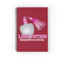 Love Potion - Harry Potter Spiral Notebook