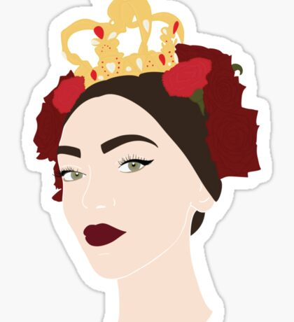 SICILIAN QUEEN Sticker