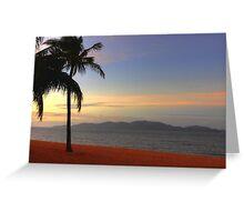 Strand Sunset-HDR Greeting Card