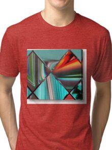 beautiful colored stunning artwork Tri-blend T-Shirt