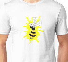 Wasp Splat - Yellow Unisex T-Shirt