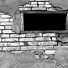 Dark Window by Bob Hortman