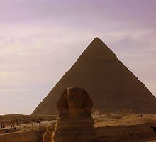 The Sphinx & The Pyramids at Giza, Egypt by isaacsfotos