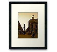 Opera Sunset Framed Print