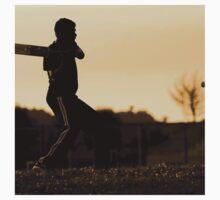 cricket bat training for championship T-Shirt