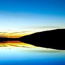 Canberra Sunset silouhette by Peter Doré