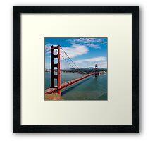 city bridge in America Framed Print