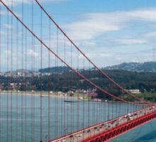 city bridge in America Sticker