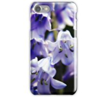 Bluebell Flowers iPhone Case/Skin