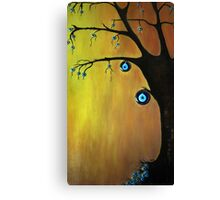 Evil  Eye Beat tree Canvas Print