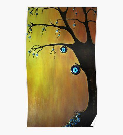 Evil  Eye Beat tree Poster