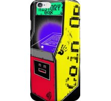 COIN OP history box iPhone Case/Skin