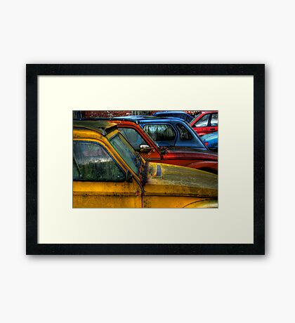 Cars Framed Print