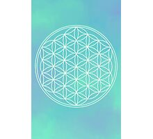Flower of Life Photographic Print