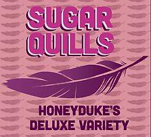 Sugar Quills - Harry Potter by Daniela Walker Reed