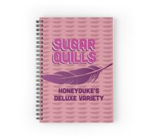 Sugar Quills - Harry Potter Spiral Notebook