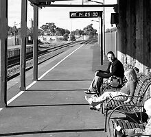 Down at the Station by Kylie Mckay