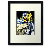 Lost in Space Abstract Framed Print