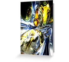 Lost in Space Abstract Greeting Card