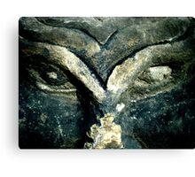Stone eyes Canvas Print