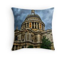 St. Paul's Cathedral ~ HDR Throw Pillow