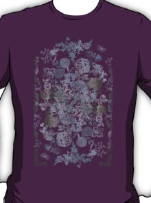 Botanical Flowers - Tattoo on Chaos T-Shirt