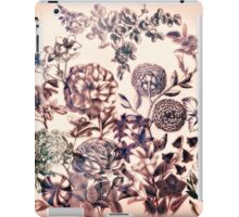 Botanical Flowers - Tattoo on Chaos iPad Case/Skin