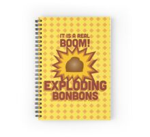 Exploding Bonbons - Harry Potter Spiral Notebook