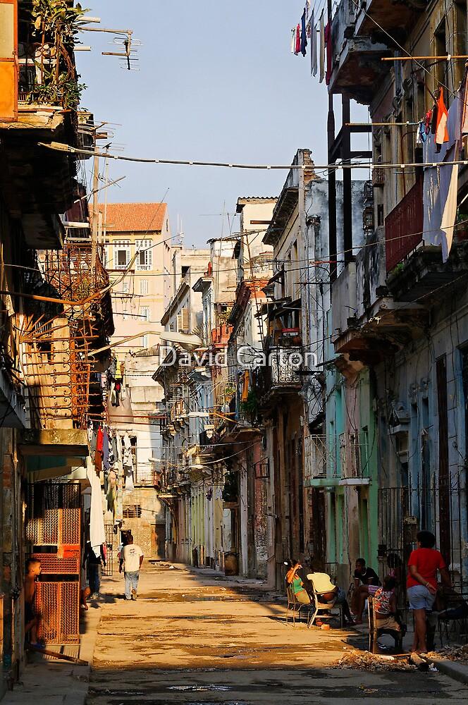 Back Street, Havana, Cuba by buttonpresser