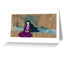 wintergirl Greeting Card
