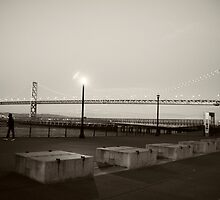 San Francisco Bay Bridge by Kimberly Palmer