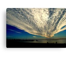 Late for the Sky Canvas Print