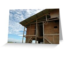 worker house Greeting Card