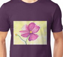 One single cosmos flower Unisex T-Shirt