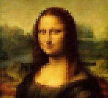 Pixel Mona Lisa by Fix-it-Fran