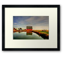 Lone Farm Framed Print