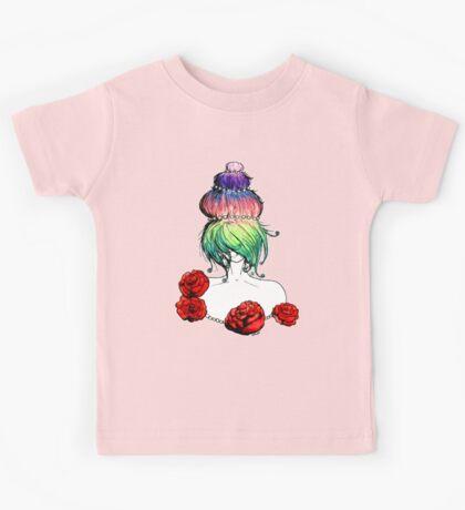Cupcake princess or Marie-Antoinette Kids Tee