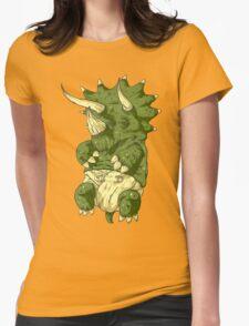babysaurus Womens Fitted T-Shirt