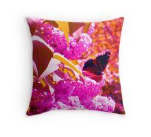 From Flower a Flutter Throw Pillow