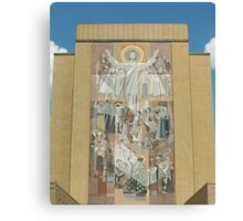 Hesburgh Library-University of Notre Dame Canvas Print
