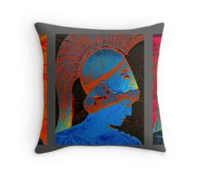 4093 - Bust Triptych Throw Pillow