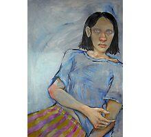 Blind Girl. Photographic Print
